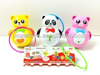 baby shaking ball toy plastic panda with light and music
