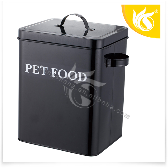 china supplier containers metal ped food storage