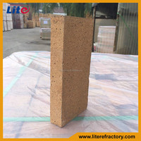 Manufacture high refractoriness thin fire brick for pizza oven