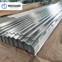 wholesale price galvanized corrugated wall roof iron steel sheet size