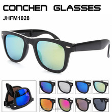free shipping Hot sale factory supplier unisex oem foldable sunglasses with cheap price
