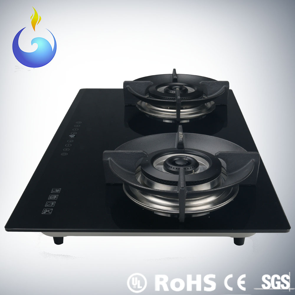 CE approval intelligent touch screen electric gas stove manufacturer