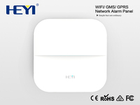 WH20 Fire Alarm Panel,White Person Gsm Fire Wireless Home Security Alarm System