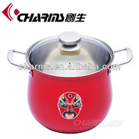 Hot sale new design Stainless steel cookware / stock pot