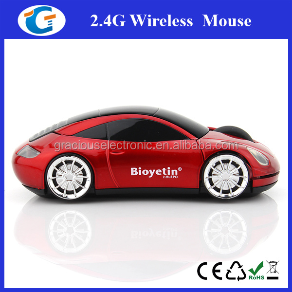 vehicle design wireless optical computer mouse car