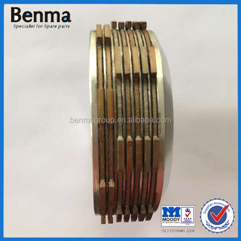 Benma parts CG200 Tricycle Clutch 7 plate clutch assy high quality CG250 3 wheel clutch assy with factory price