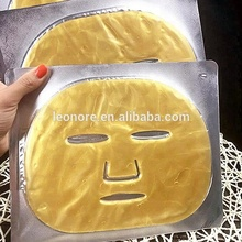 best selling 24K Gold Facial Mask sheet collagen crystal mask
