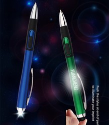 Logo printed dissimilarity handwritten highlighter touch stylus pen