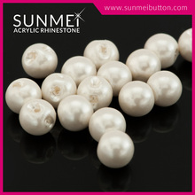 Acrylic Plastic Sew on Faux Pearl Beads in Bulk