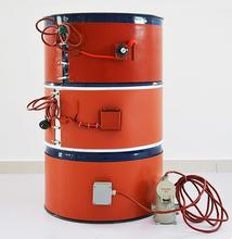 Electric silicone rubber <strong>Heater</strong> for 200L oil drum with Digital display thermostat and Spring Hook