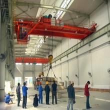 heavy duty QD double girder overhead Crane Winch Trolley
