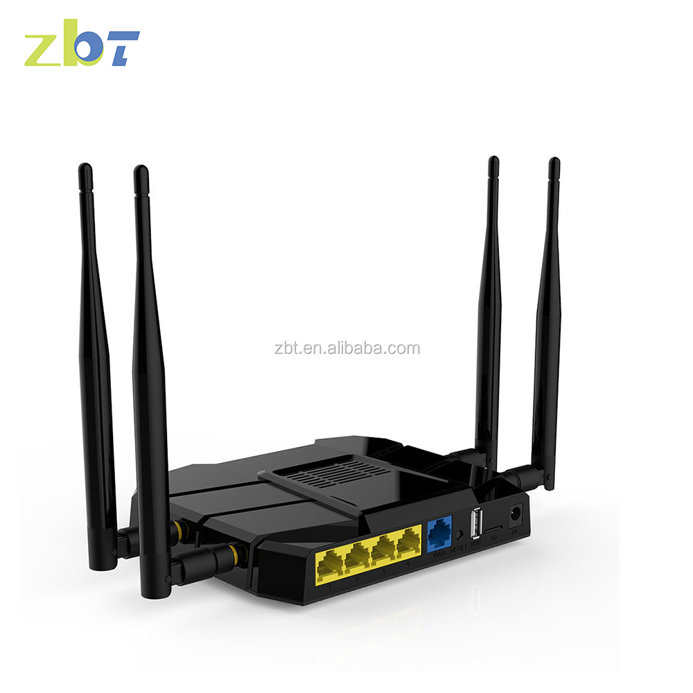 11AC 1000M LAN ports Alibaba wholesale 4g wireless wifi router with sim card slot