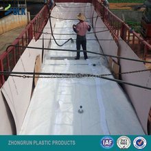truck flexitank for liquid storage and transport, top loading and unloading pp bag