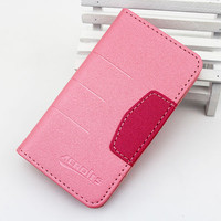 Wholesale Mobile Phone Accessory Wallet Leather Flip New Case for Iphone 4