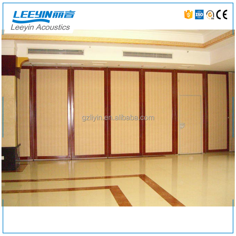 China wooden partition door sliding wall