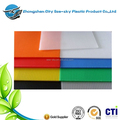 2-12mm thickness white color plastic material themoforming coroplast sheet for printing pp material