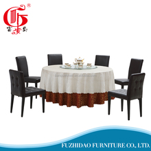 European style folding dining table with PVC tabletop
