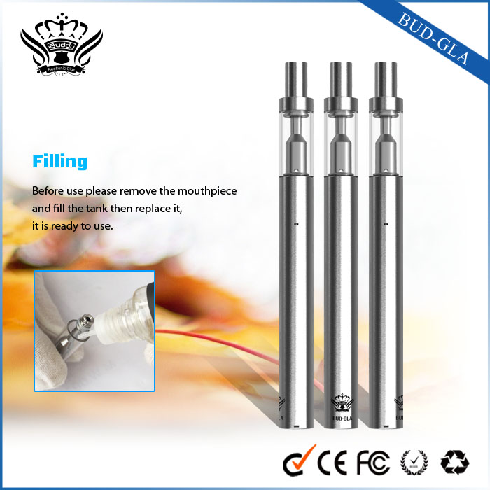 Buddy New Design No Flame BUD 510 Oil Cartridge E-cigarette Vaporizer
