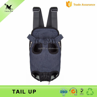 Front Pack Dog Carrier Expandable Pet Carrier Bag