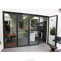 ROGENILAN 75 series soundproof luxury accordion aluminum bifold door