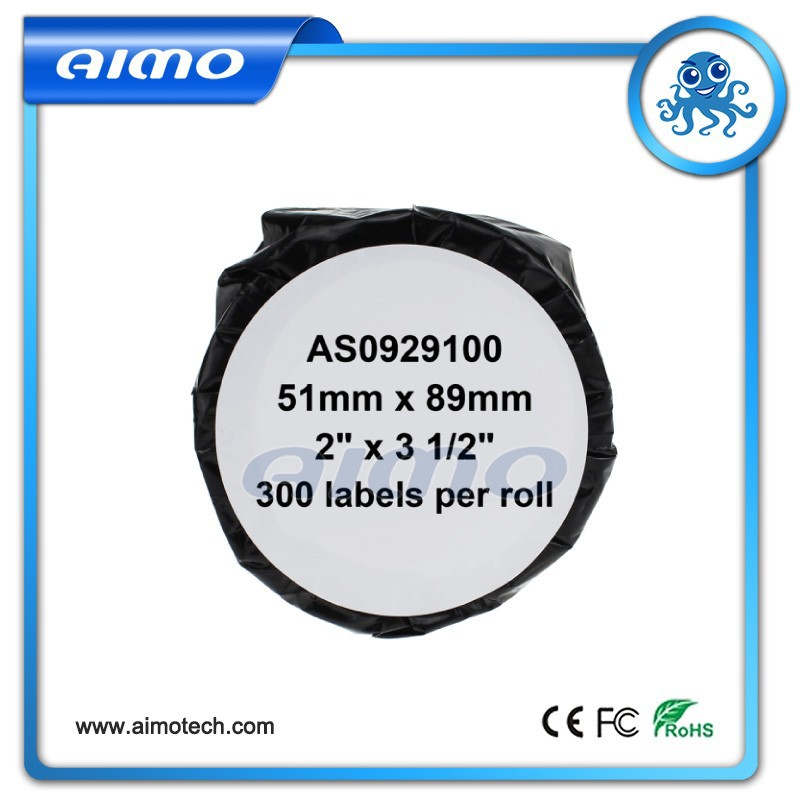 51mm x 89mm*300labels compatible appointment/name badge cards (non-adhesive) labels S0929100 for Dymo