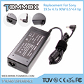 19.5V 4.7A 90W 6.5*4.4 L tip replacement laptop charger VGP-AC19V41 for Sony VGN-FW373JW, VGN-FW375J, VGN-FW375JB, VGN-FW375JH