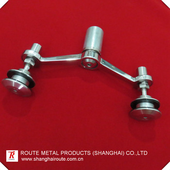 Stainless steel spider fitting stainless steel glass fittings