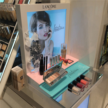Cosmetic eyeshadow display makeup counter display displays yes love cosmetics