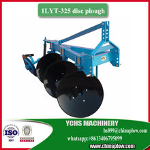 Reversible 3 furrow disc plough for foton tractor