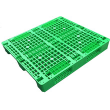 Qualified 1200x1000mm HDPE Rakable Euro Plastic Pallet
