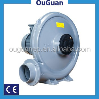 Aluminium blower centrifugal fan for ceramics and mining industry