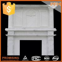 house decorative marble fireproof material fireplace