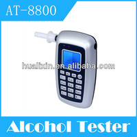 Advanced portable wireless printing breath alcohol tester of four digital display witn 3 color light AT-8800 without memory
