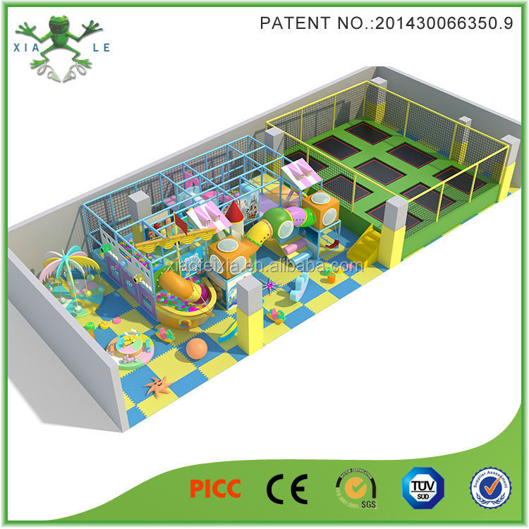 wholesale trampoline professional design ,fashion games at xiaofeixia