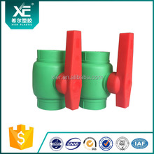 High pressure POM ball ABS long handle plastic ppr ball valve