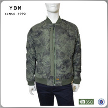 2014 2015 High fashion men jacket winter jacket camouflage print