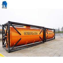 Widely used 20ft 40ft fuel oil iso tank container with low price , iso tank containers for oil , 20 feet tank container