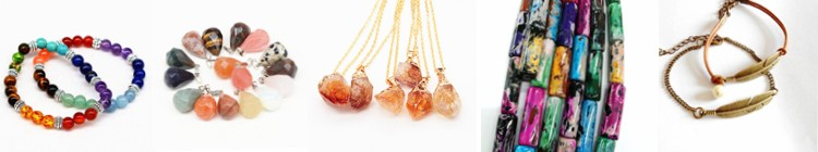 Graduated color agate beads stone druzy crystal gemstone beads gold plated connector accessory pendant for necklace