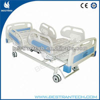 BT-AE101 China manufacturer CE ISO ABS Siderails patient room electric hospital recline chair beds