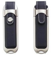 Free sample,128MB to128GB capacity leather USB flash drive