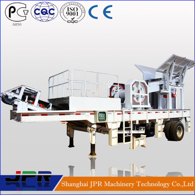 China Trustworthy Factory Mini Mobile Crusher Best Price with Full Service
