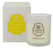 New Design uplifting fresh scent combining aroma wax candle