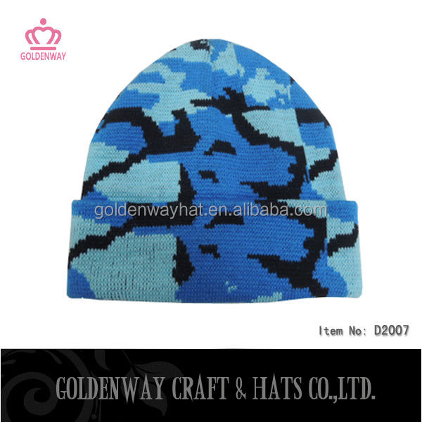 German army flecktarn camo warm types of peak winter hat cap