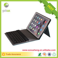 2015 leather keyboard carry case for ipad
