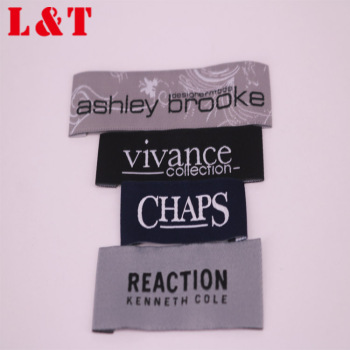 Fancy Cotton Woven Logo Clothing Jeans Main Label