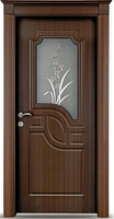 SC-P174 Sun City Turkey Classic PVC Door Design with Glass Price