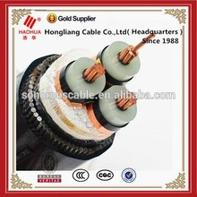 NO.3909- High voltage Outdoor Power Transmission YJV22 YJV32 Cable Wire Electrical Armoured HV Cable 3.6/6kV 16mm2