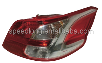 Car body parts tail lamp for Peugeot 301