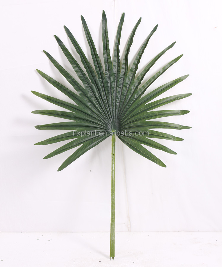 2016 medium and small number of artificial palm leaves foliage artificial leaves