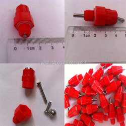 no need for glue and bonding poultry nipple drinker HJ-DN001